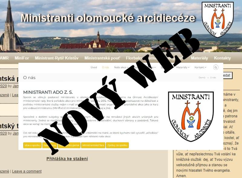 alt Nový web
